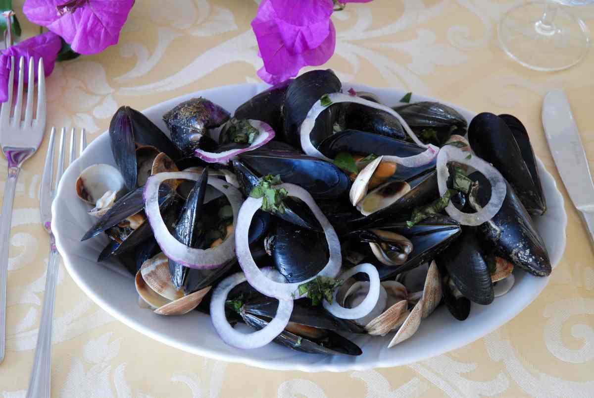 Villa americana park hotel gastronomia - Mare in tavola foggia ...